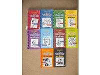 Diary of a Wimpy Kid book set by Jeff Kinney (10 Books)