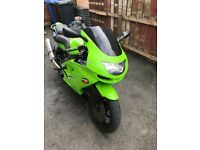 Zx6r low miles