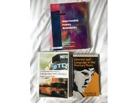 Literacy & maths education textbooks