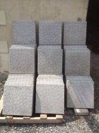 """Brand new patio slabs 18"""" x 18"""" can deliver"""