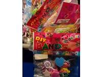 Loom band assorted colour joblots