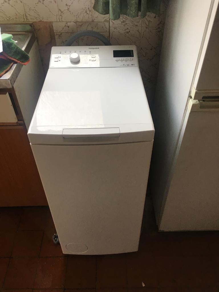 Hotpoint Top Loading Washing Machine Hotpoint Wmtf 722 H Top Loading Space Saving Washing Machine In