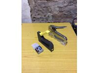 Heavy duty staplers x 2