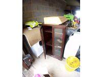 Wood stereo unit furniture