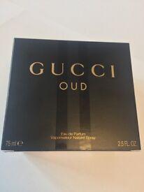 Gucci OUD 75ml perfume (eau de parfumerie)