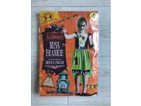 BRAND NEW WILKO HALLOWEEN MISS FRANKIE COSTUME 3-4 YEARS