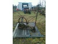 Ransomes tractor mower