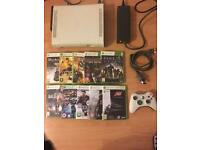 Xbox 360 console plus 10 games bundle - Bargain £49