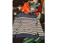 Boys jumpers and t-shirts