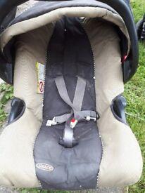 Graco rear facing car seat