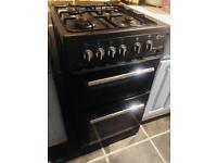 Black gas cooker.