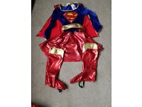 Super girl fancy dress outfit