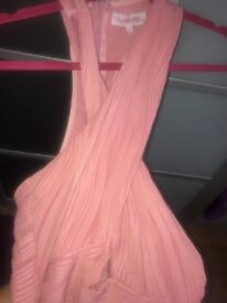 Pink boutique dress. Size 10. Worn once. Perfect for nights out! Lovely flattering fit.