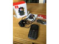 Vodafone 155 Big Button Mobile Phone with Sim