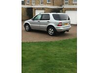 Mercedes ml 270 CDI 2003 with private plate 116000 miles 7 seater