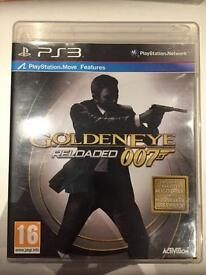 PlayStation 3 Golden eye reloaded 007