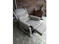 Rise & Recliner Dual Motor Chair by 'Repose Furniture' - Excellent Condition