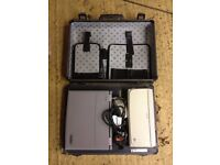 Retro Toshiba Laptop inc hard case with integrated printer