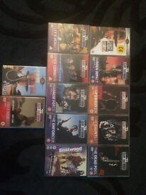 Clint Eastwood dvd's