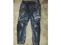 Alpinestars Track Pants Leather Trousers