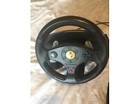 Thrustmaster Ferrari GT Experience PC and PS3 racing wheel - faulty pedals