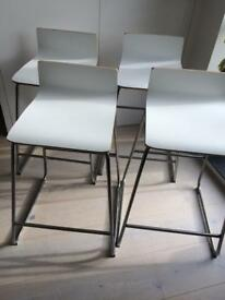 4 x IKEA high stools