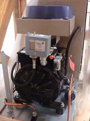 New Indoor Low Temp 2hp Copeland Semi Water Cooled Condensing Unit 230v 3 Phase