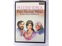 Pavarotti sings Tosca Cassettes