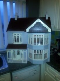 collectors dolls house with lights and furniture ,great condition,ideal for xmas,can deliver