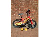 "Fireman Sam 14"" Bike with Removable Stabilisers"