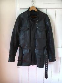 Vintage Speedwear 'Black Label Leather' - Mens Motorcycle Jacket