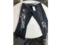 Zara Women's Ripped Jeans Size 12