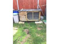 Very large rabbit hutch