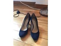 New GEOX COURT heels size 6.5 (39)