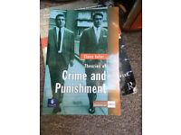 Criminology & Sociology/ Social Policy books
