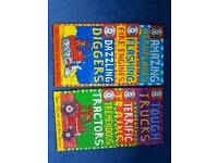 6 transport book set with cd