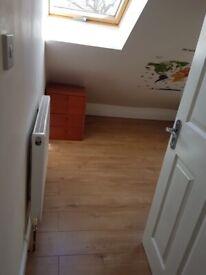 Flat in attic