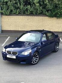 BMW M5 5.0 507 BHP 2005 INTERLAGOS BLUE FULLY LOADED PRISTINE CONDITION