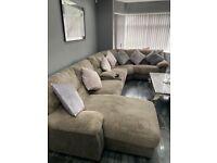 Large corner settee