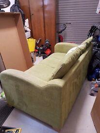 Modern cloth 3 seater sofa