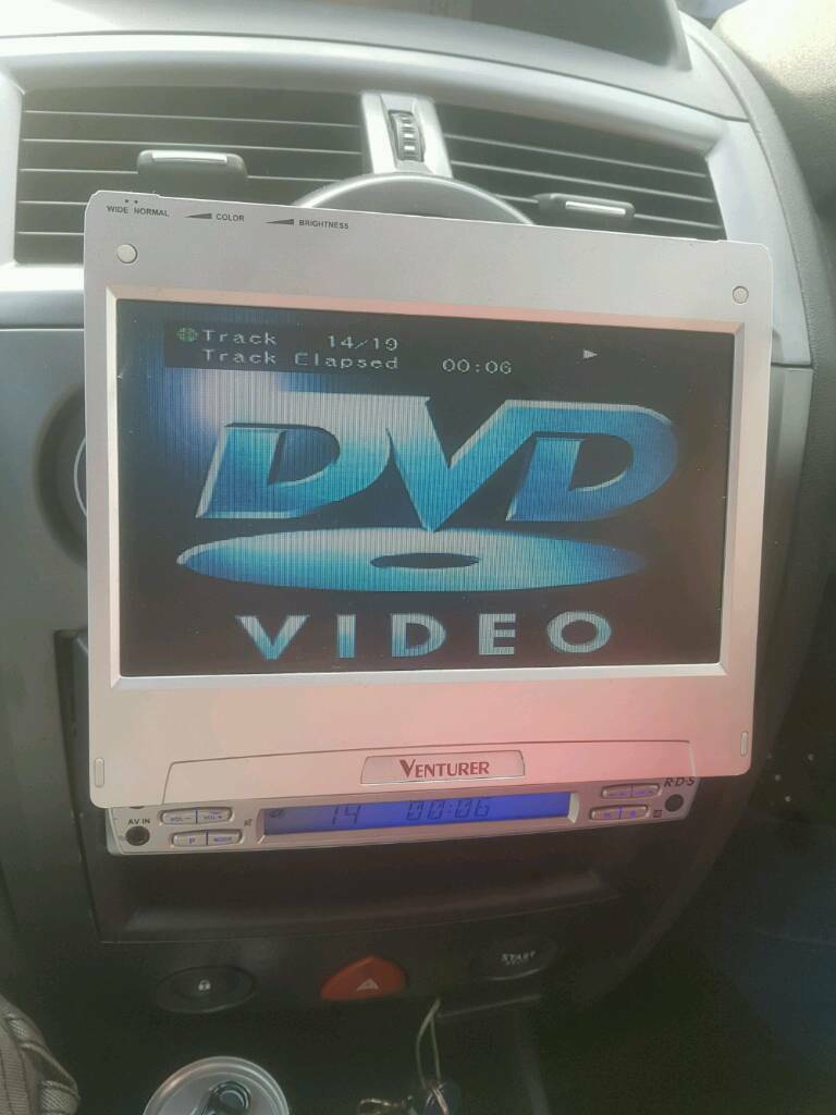 Flip out dvd player