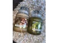 Yankee candles both for £20
