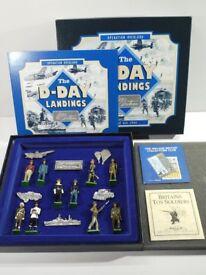 Mint Boxed Britains Lead Soldiers D-Day Landing Set.
