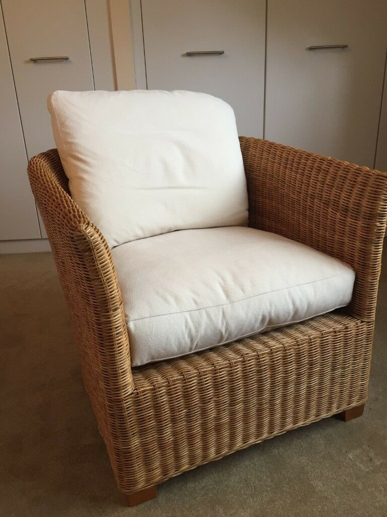 Pleasant John Lewis Wicker Garden Lounge Chair In Chandlers Ford Hampshire Gumtree Dailytribune Chair Design For Home Dailytribuneorg