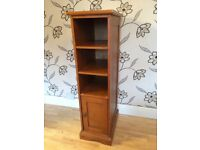 CHUNKY WOODEN SLIMLINE STORAGE UNIT