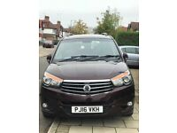 Ssangyong turismo 2.2l 2016 low millage, seven seater