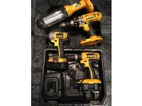 Dewalt package set 18v cordless