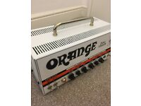 Orange Dual Terror All Tube 30 Watt Guitar Amp with Orange Bag + Orange FS-1 Footswitch - IMMACULATE