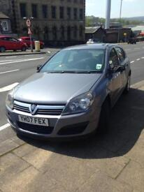 2007 plate. Astra diesel. In grey got flat tyre flat battery. And clutch pedal on
