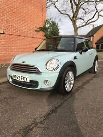 MINI HATCHBACK 2012 1.6 BLUE